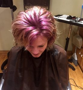 hair-coloring-pink